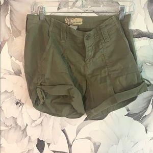 Lucky Brand green shorts